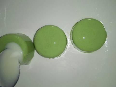 Thạch sữa đậu nành lá dứa bước làm 6 hình