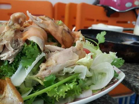 Salade gà quay recipe step 11 photo