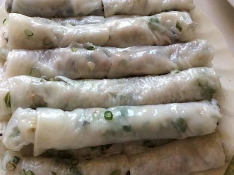 Bánh cuốn tráng chảo recipe step 5 photo