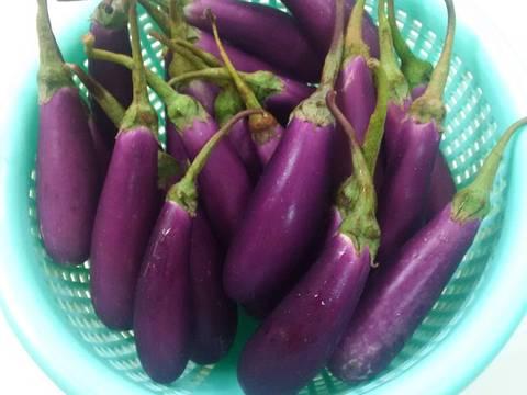 Cà tím bao tử nấu đậu recipe step 2 photo