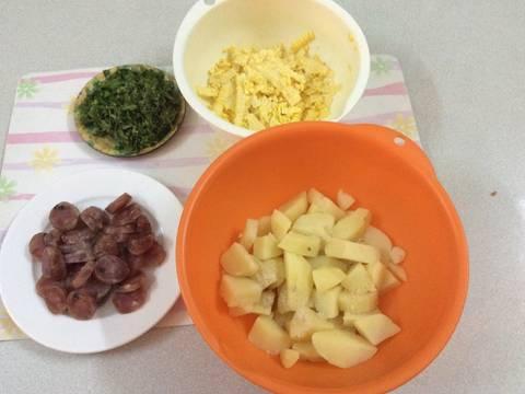 Bánh khoai tây recipe step 2 photo