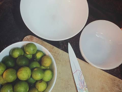 Siro quất 😘😘 recipe step 1 photo