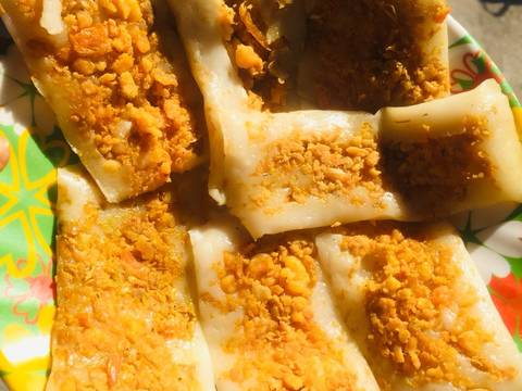 Bánh nậm Huế bước làm 4 hình