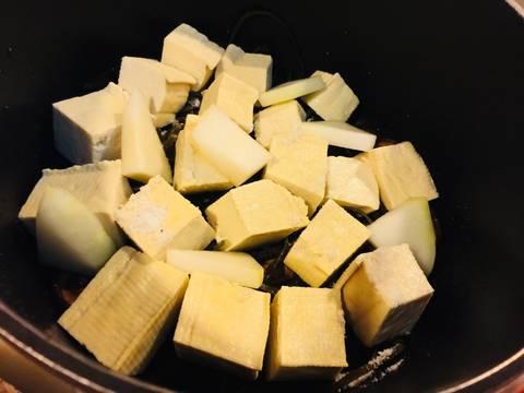 Phổ tai kho củ, đậu và nấm recipe step 5 photo