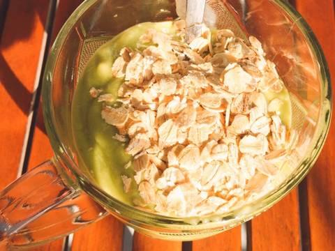 Eat clean- sữa chua bơ chuối yến mạch- bữa sáng nhanh gọn giàu dinh dưỡng recipe step 2 photo