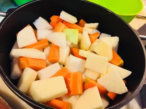 Phổ tai kho củ, đậu và nấm recipe step 6 photo