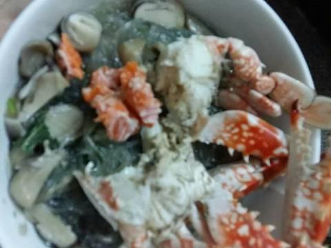 Miến ghẹ recipe step 3 photo