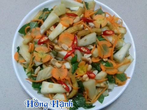 Gỏi Sake Chay recipe step 8 photo