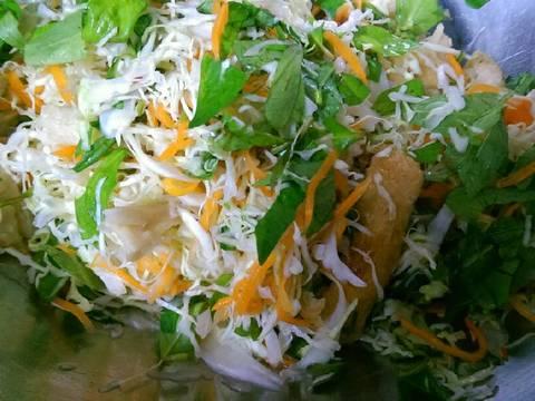 Gỏi Mì Căn Chay (Gỏi Gà Chay) recipe step 18 photo
