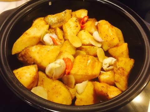 Cá lóc phi lê kho riềng recipe step 6 photo