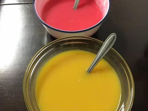 Bánh bông lan xoài và chanh dây.. recipe step 10 photo