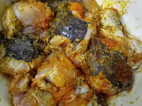 Cá mao ếch xào xả ớt recipe step 3 photo