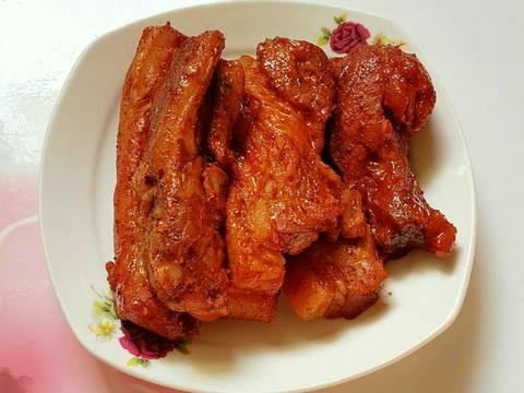 Thịt Xá Xíu Nấu Bằng Nồi Cơm Điện recipe step 5 photo