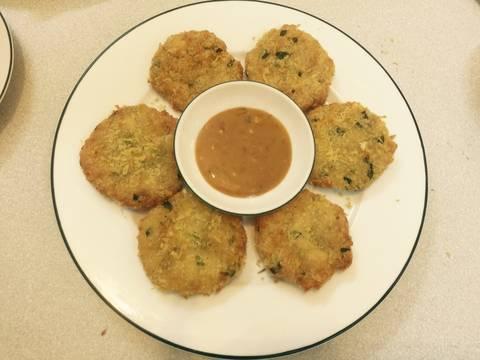 Chả cốm đậu hũ ngày đầu tháng recipe step 6 photo
