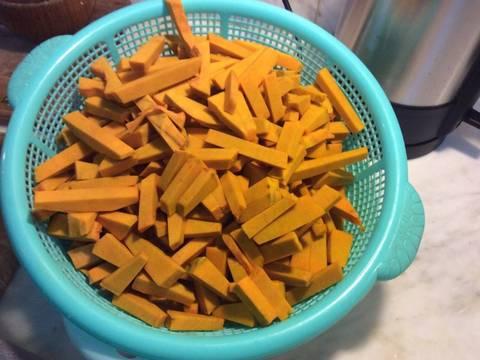 Mứt bí đỏ Hải Hậu recipe step 2 photo