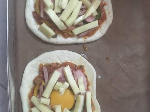 Em chia sẻ cách làm đế bánh pizza recipe step 5 photo