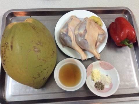Đùi vịt làm gì với nước dừa Ba Tri? recipe step 1 photo