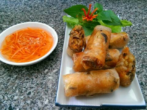 Chả Giò Sake (Món Chay) recipe step 5 photo