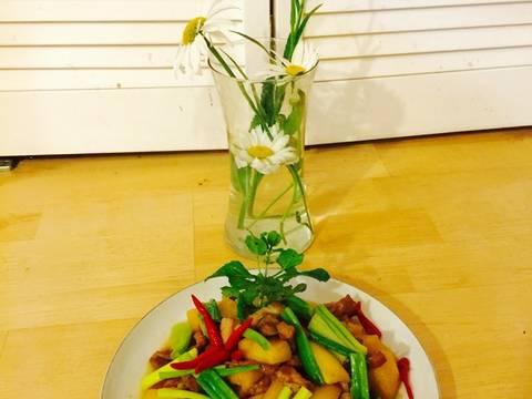 Củ cải trắng kho với thịt ! recipe step 8 photo