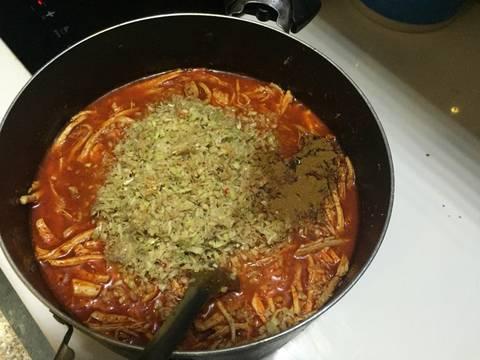 Khô heo xé sợi recipe step 6 photo