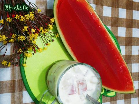 🥂🍉 Thạch dưa hấu - Thạch hoa quả🍉 🥂 recipe step 5 photo