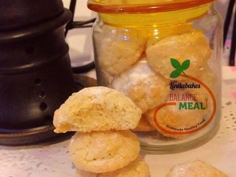Amaretti - bánh hạnh nhân kiểu Ý recipe step 3 photo