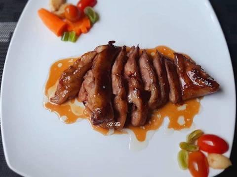 Đùi VỊT đút lò sốt Teriyaki recipe step 9 photo