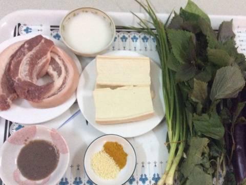 Cà tím bao tử nấu đậu recipe step 1 photo