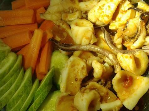 Mực nướng cay recipe step 4 photo