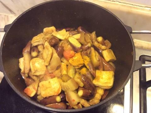 Cà tím bao tử nấu đậu recipe step 6 photo