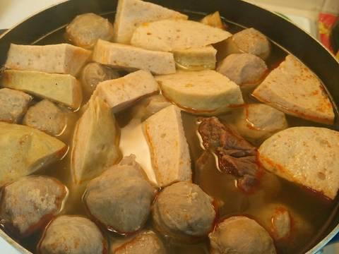 Bún bò huế đơn giản (với gia vị bún bò có sẵn) recipe step 3 photo