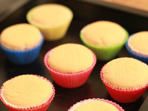 Hokkaido Chiffon Cupcakes recipe step 7 photo
