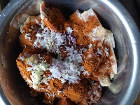 Cà ri gà recipe step 1 photo