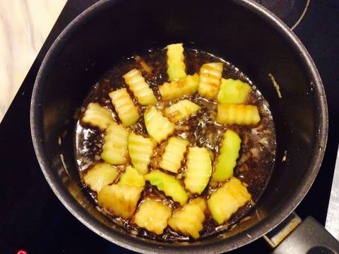 Nấm xào cải thìa với đậu phụ recipe step 8 photo