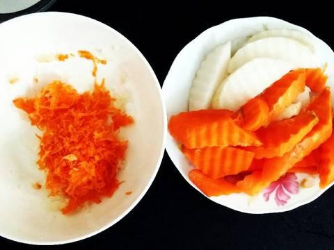 Nước lẩu kimchi với rau củ mài (siêu dễ) recipe step 1 photo