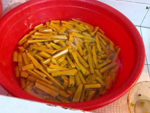 Mứt bí đỏ Hải Hậu recipe step 3 photo