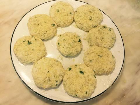 Chả cốm đậu hũ ngày đầu tháng recipe step 4 photo