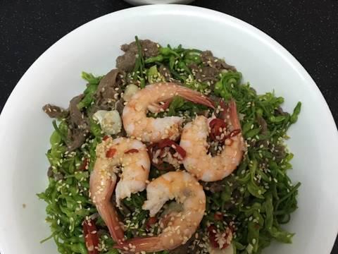 Gỏi Hoa Thiên Lý recipe step 4 photo