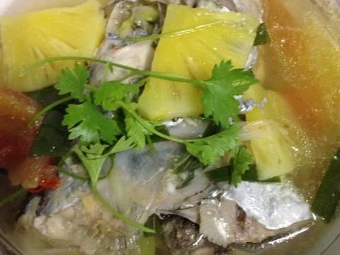 Canh Cá Hố Nấu Thơm Cà recipe step 3 photo