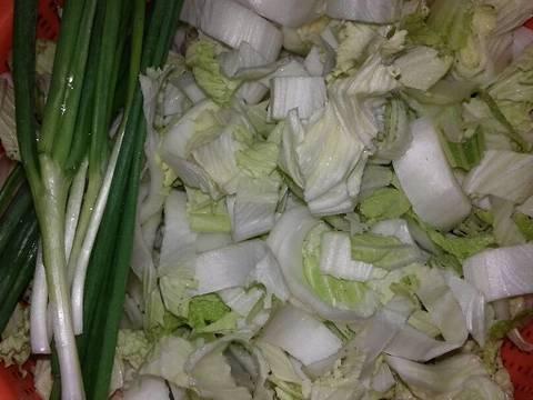 Canh Cải Nấu Cá Viên recipe step 1 photo