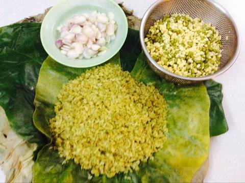 Xôi cốm đậu xanh recipe step 1 photo
