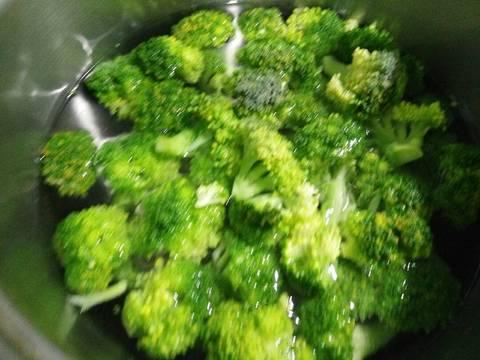 Mỳ Fusilli Với Broccoli Sốt Kem recipe step 4 photo