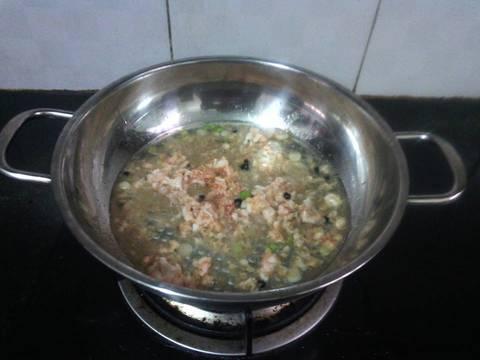 Củ cải trắng xào tôm recipe step 3 photo