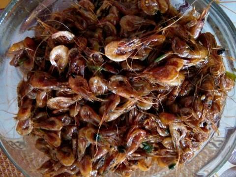 Cháo trắng lá dứa ăn với tép đồng ram mặn 😆 recipe step 2 photo
