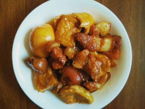 Thịt kho trứng recipe step 5 photo
