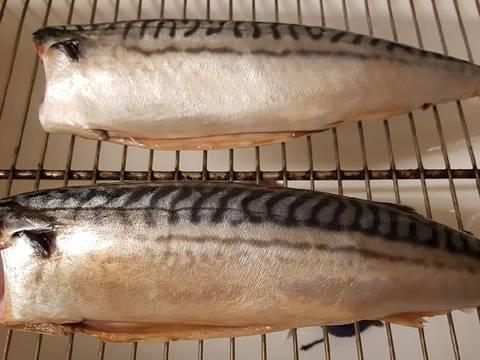 Cá nục nướng kho bước làm 1 hình
