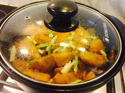 Cá lóc phi lê kho riềng recipe step 7 photo