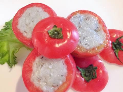 Súp cà chua tôm lạnh cho ngày hè bước làm 2 hình