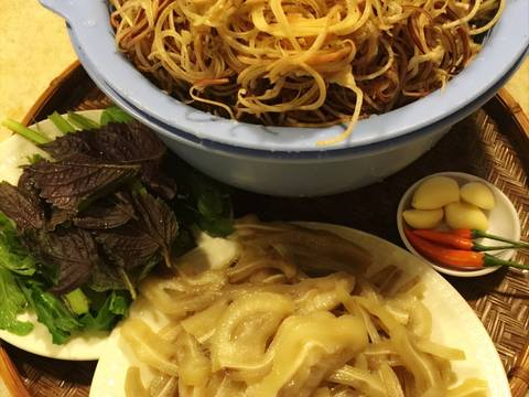 Gỏi bắp chuối tai heo ! recipe step 4 photo