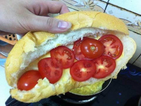 Bánh mì trứng đơn giản recipe step 1 photo